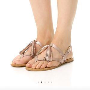 Kate Spade Clorinda sandals leather w/ tassel 6.5